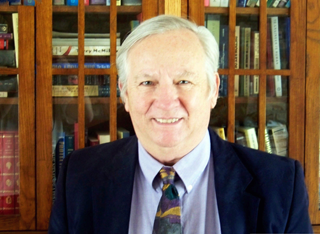 Dr. Jerry Warren in his office